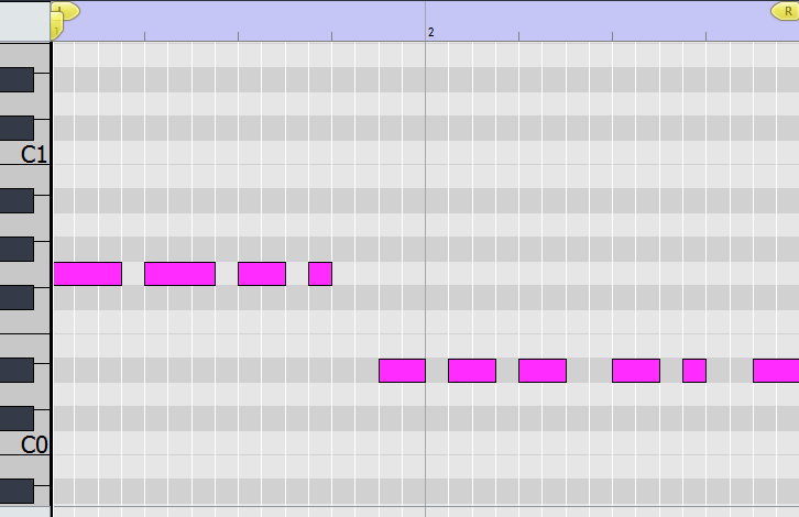 bass layer. midi