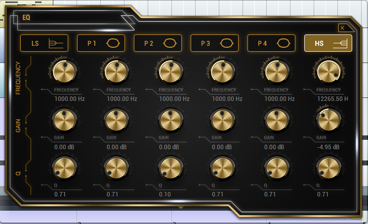 Pianos - Example 1 - EQ