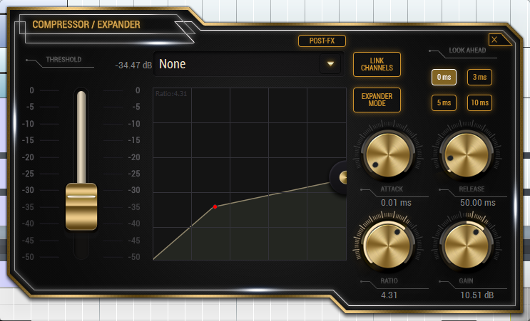 Pianos - Example 2 - Compressor