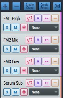 3 FM and 1 Serum