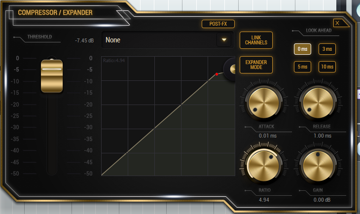 Loudness - Snare - Compression