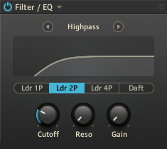 Foley - Sample 5 - Filter