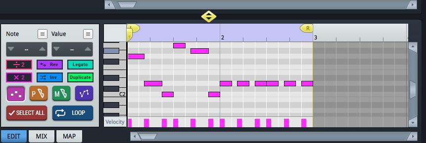 Bass melody 1