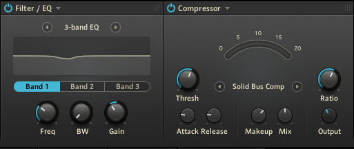 Battery 4 - EQ & Compressor