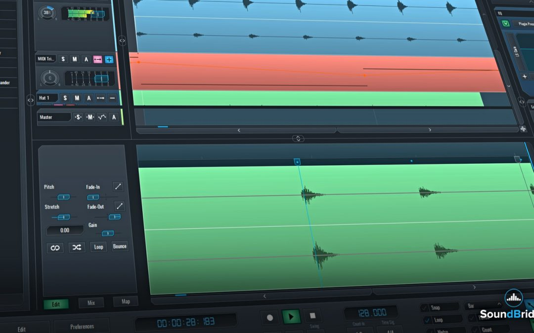 SoundBridge Widgets: Edit Windows – Part 1