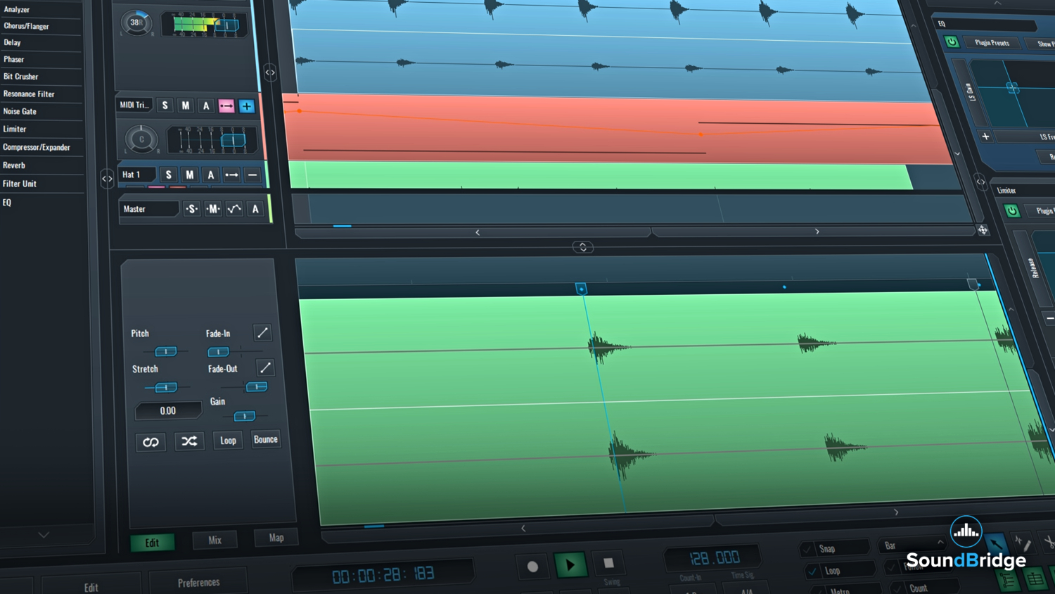 SoundBridge Widgets: Edit Windows – Part 1