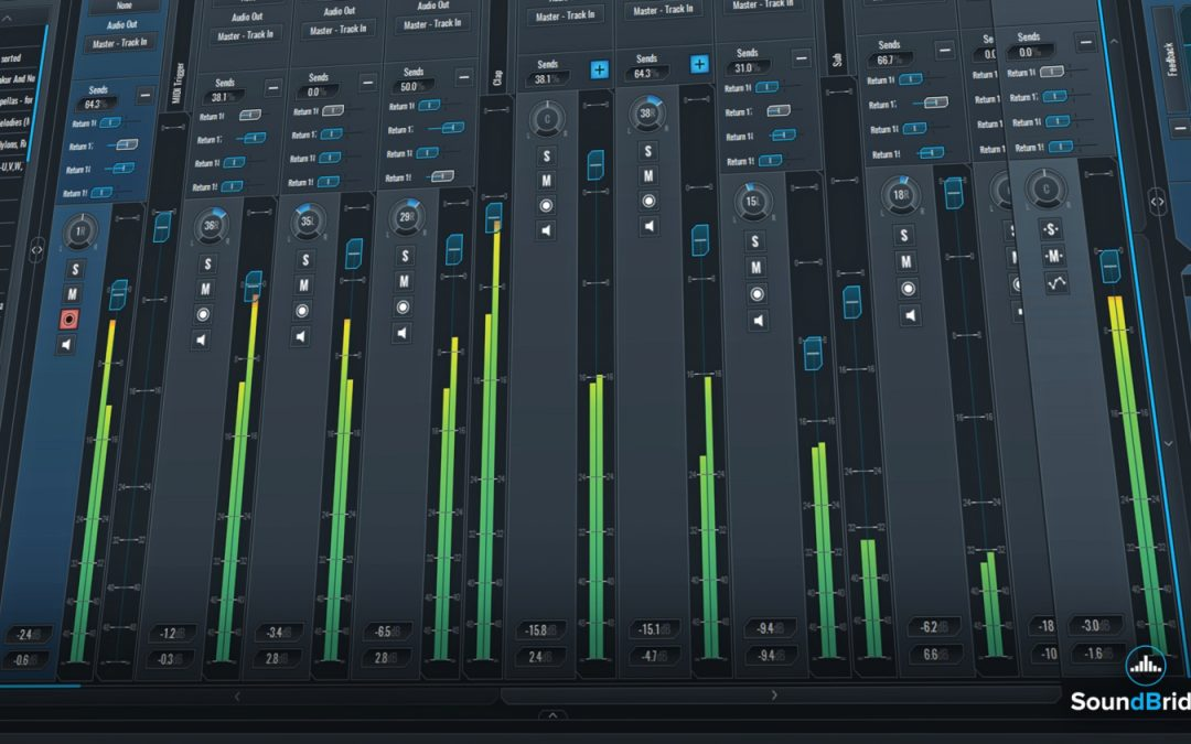 SoundBridge Widgets: Mixer (Main & Mini)