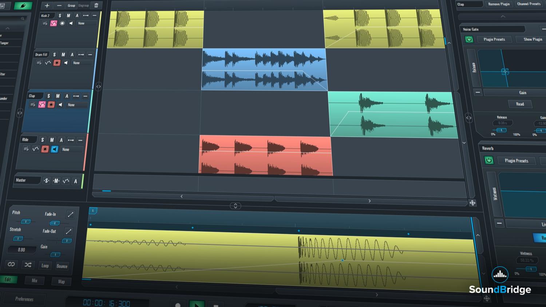SoundBridge Widgets: Track List