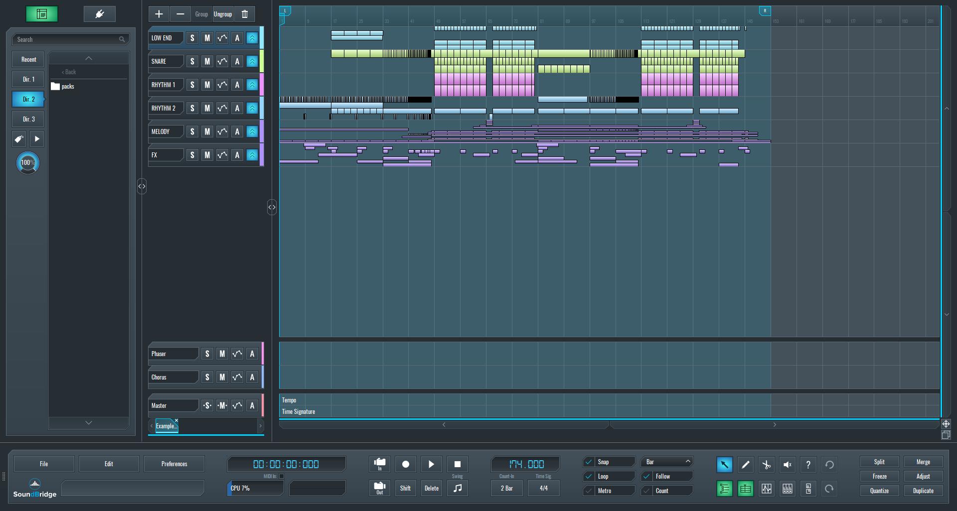 SoundBridge Widgets: Mixer (Main & Mini)