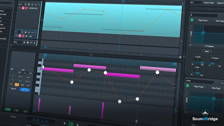 SoundBridge Widgets: MIDI Mapping
