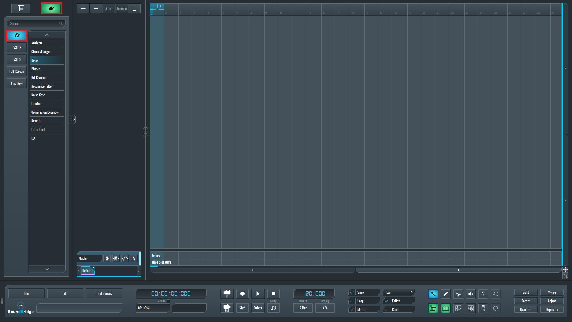 SoundBridge Widgets: Built-in Effects (Part 1)