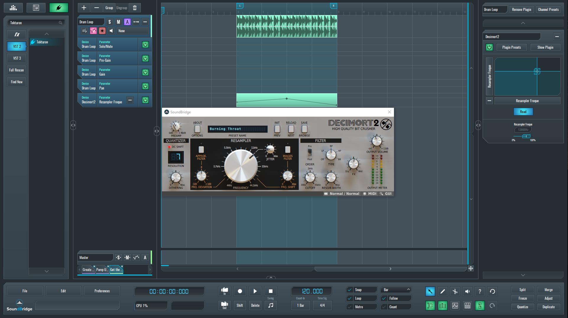Get the Low Hi Sound with Decimort 2 by D16 - SoundBridge