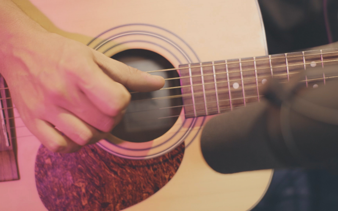 Get a Realistic Sound of an Acoustic Guitar (Part 1)