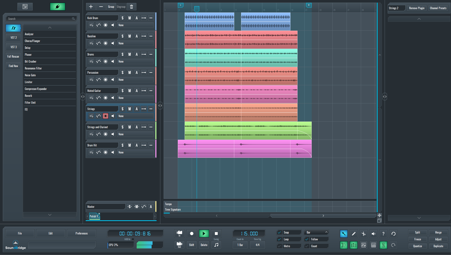 Polish Your Song with a Linear-Phase Multiband Processor