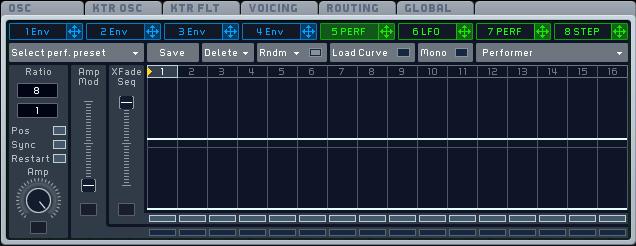 Sync parameters in Massive's modulation oscillators