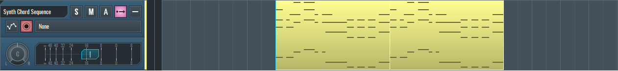 Midi chord sequence