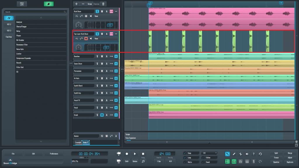 Layer editing