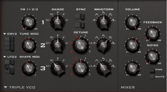 Oscillator 3 of Reese Bass Sound